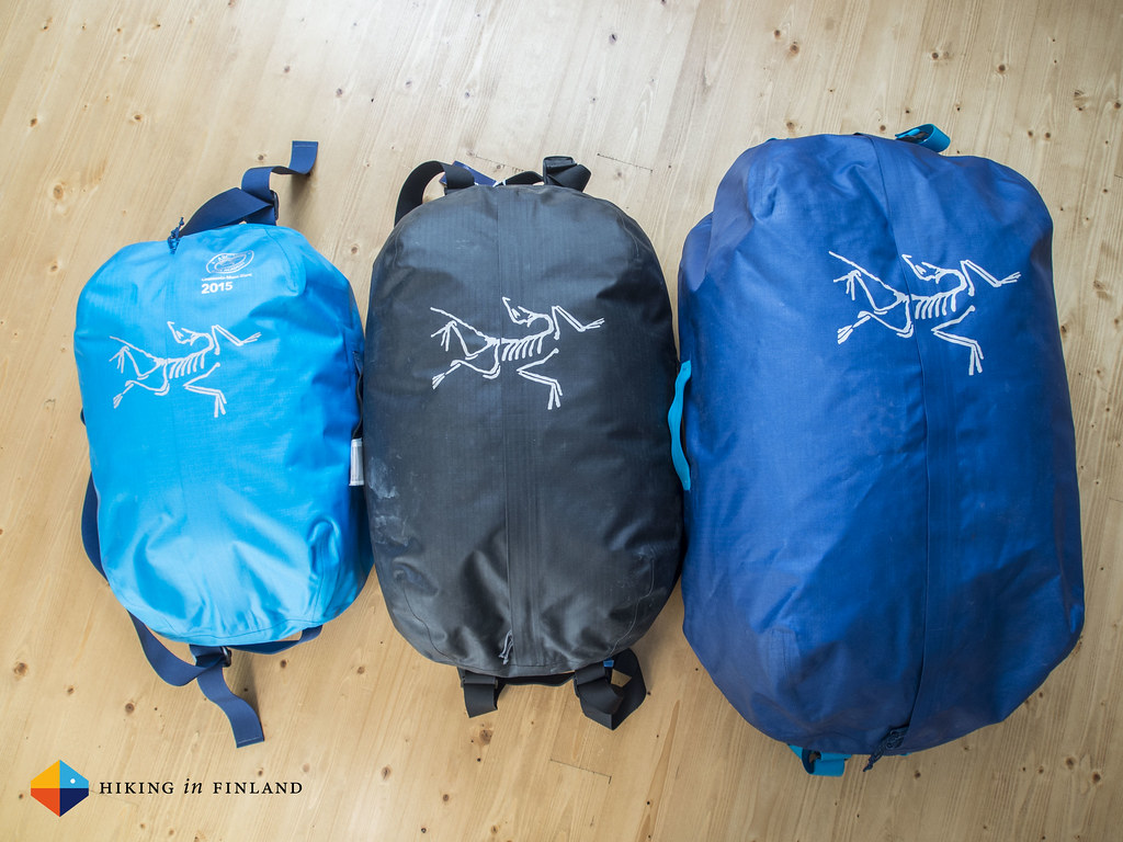 Arc'teryx Carrier Duffle 35, 50 and 100