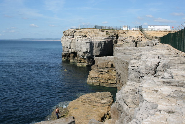 The coast west of Portland Bill