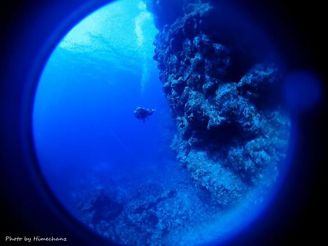 黒島ブルー、めちゃんこキレイ♪