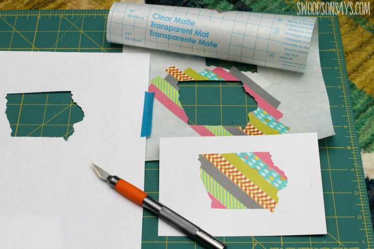 washi tape crafting
