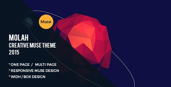ThemeForest MOLAH - Muse Template