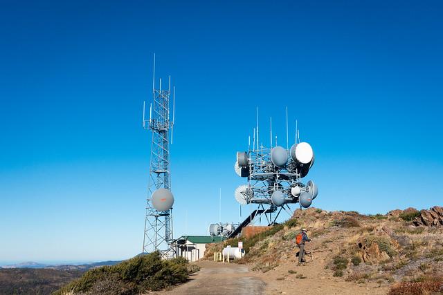 Chris, peaking, Monument Peak