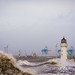 New Brighton storm by Lukasz Lukomski