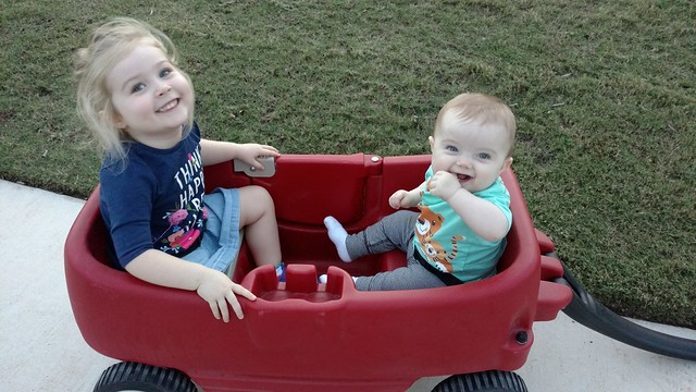 First wagon ride