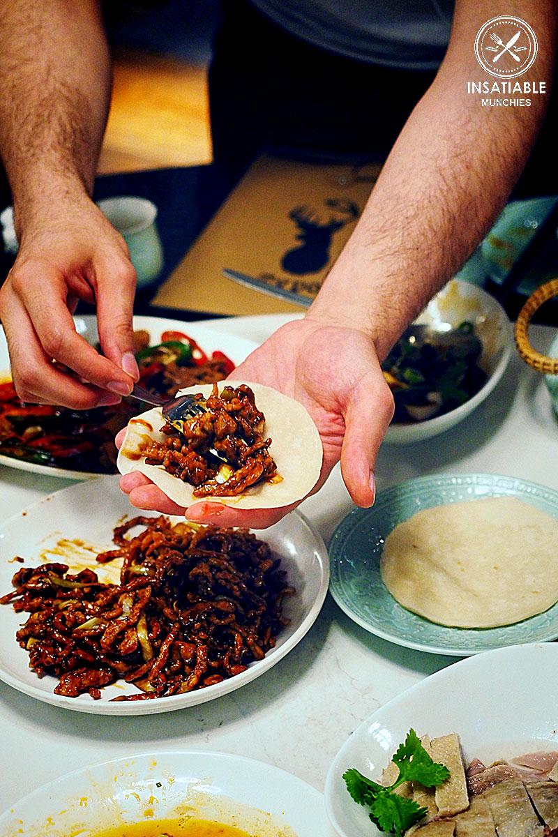 Peking style shredded Pork + Golden Buns, Taste of Shanghai, World Square. Sydney Food Blog Review