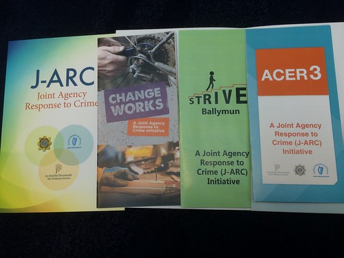A selection of brochures from the J-ARC launch