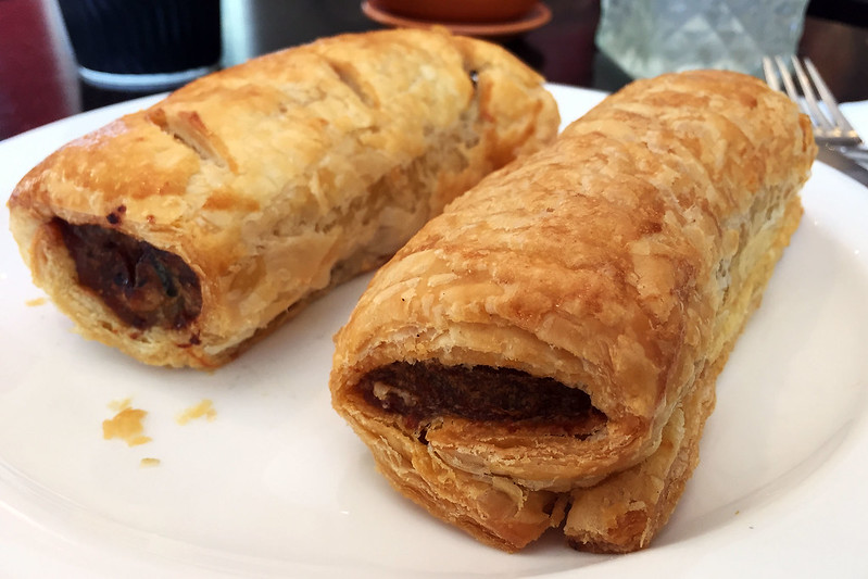 Beef and lamb sausage rolls, Dinky Di Pies & Pastries
