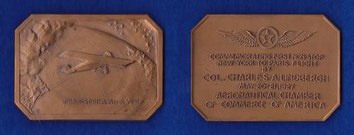 Charles Lindbergh medal