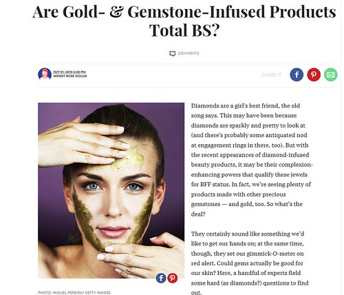Dr. Schlessinger Discusses Gem-Infused Skin Care