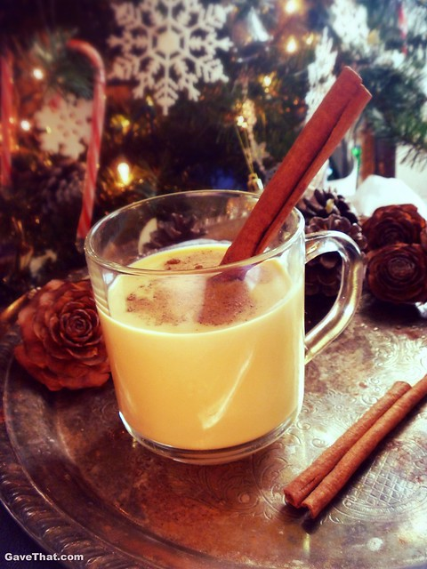 My recipe for old fashioned homemade eggnog