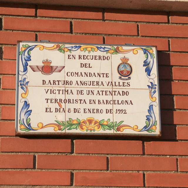 Placa in memoriam Artro Anguera