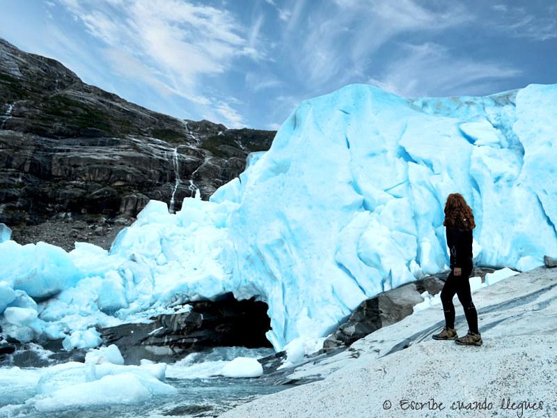 Glaciar Nigards, dentro del Parque Nacional de Jostedalbreen