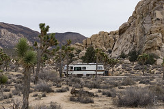 RV at Joshua Tree National Park