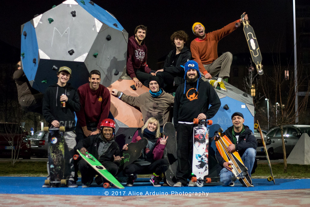 Torino Night Ride - Longboard Crew Italia