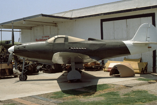 Bell P-39 Airacobra at the Planes of Fame Museum, 1980