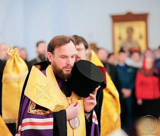 Молебен в Спасском соборе 290