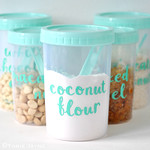 Sizzix Labelled food jars