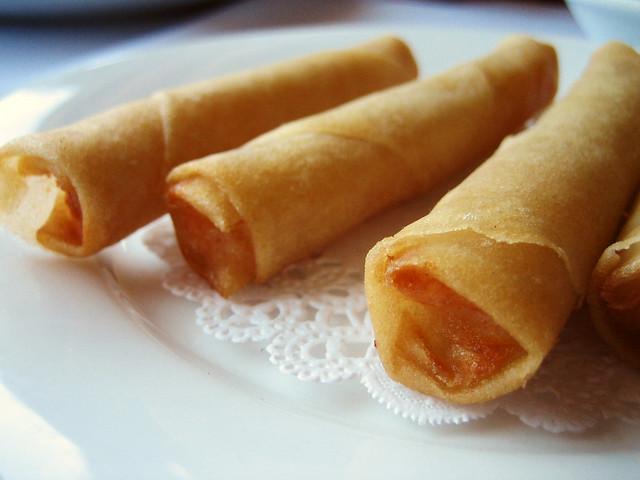 mini shrimp rolls | Flickr - Photo Sharing!