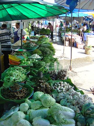 Alapanyag beszerzés thai spenótleveshez