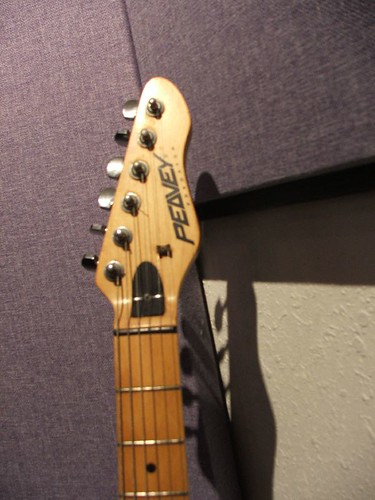 flickriver photos tagged digi002 headstock of peavey predator strat guitar