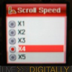 Super Talent GUI - set scroll speed
