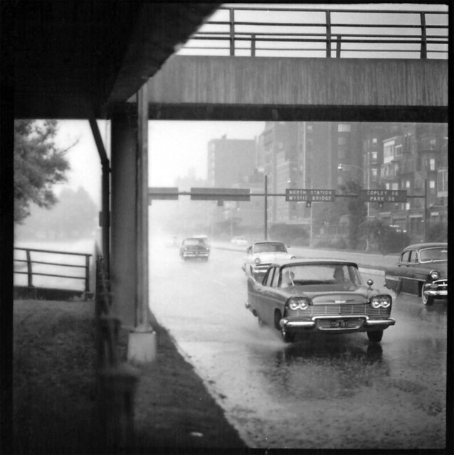 26 rainy day, storrow drive