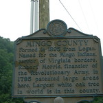 Mingo County Historic Sign