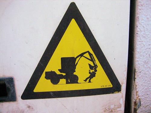 Beware : evil bulldozer !
