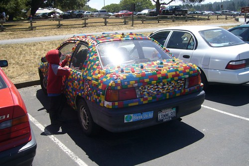 Lego Car (rear)