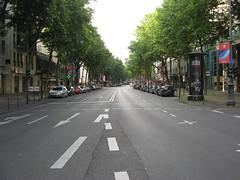 asphalt, town, sidewalk, road, lane, residential area, city, downtown, road surface, street, neighbourhood, infrastructure, pedestrian crossing,