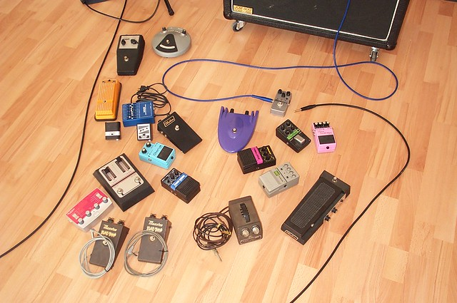 Photo:Pedal collection By germanium