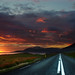 sunset road by hkvam