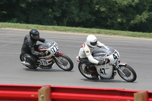 Vintage Motorcycle Racing - Mid-Ohio