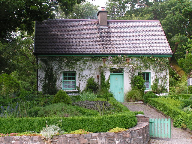 Irish cottages a gallery on flickr for Country garden designs ireland