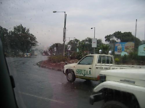 Начало путешествия из Найроби ознаменовано дождями