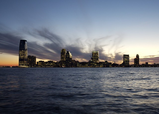 Jersey City Across the Hudson