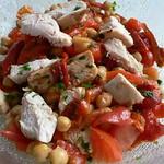 Spanish chicken & chickpea salad