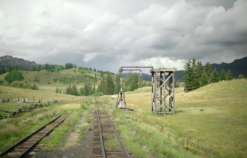 new railroad mountains history landscape mexico track scenic historic americana siding cumbres railroading toltec