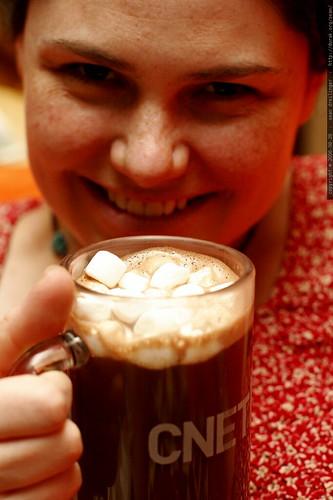 vegan hot chocolate for my pregetarian wife    MG 0354