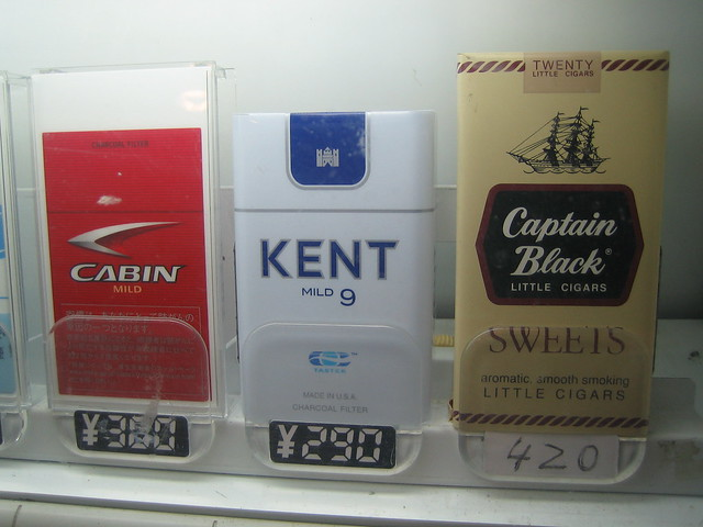 Top selling cigarettes Parliament brands United States