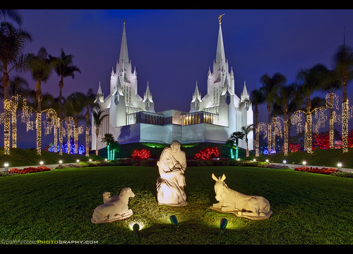 Merry Christmas from The Church of Jesus Christ of Latter Day Saints Temple