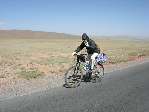 china travel expedition qinghai tanggula bike2005