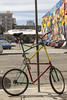 235/365  Tall bicycle by pointnshoot