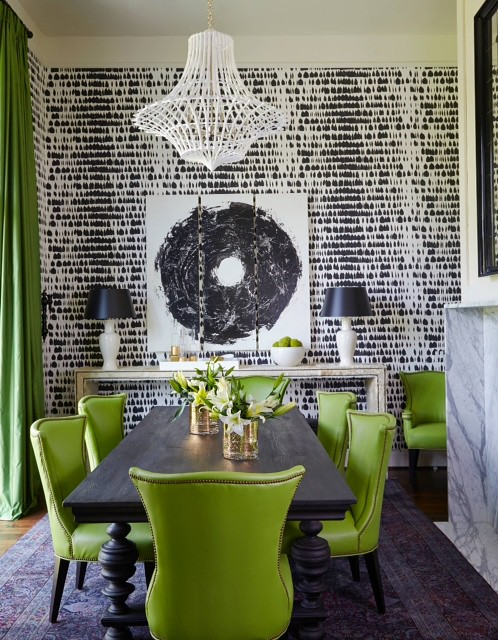 Patterned Wallpaper | Home Decor