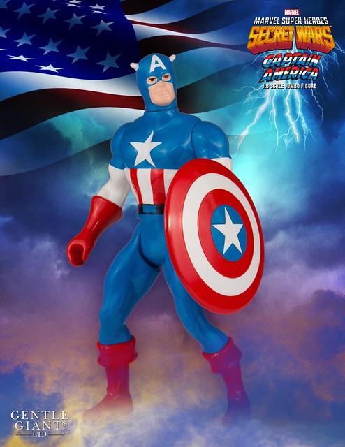 Gentle Giant【美國隊長】Captain America 秘密戰爭 3.75 吋吊卡 Jumbo 版