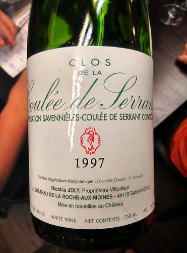 Nicolas Joly 1997 Clos de La Coulee de Serrant