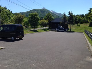rishiri-island-fujimigaoka-park-golf-course-parking