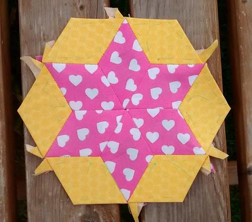 Hexagon star #15