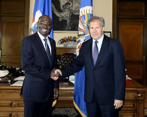 OAS Secretary General Met with the Prime Minister of Haiti