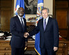 Secretary General Meets with Prime Minister of Haiti
